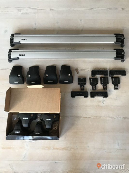 Thule WingBar Edge 9592 + Rapid System 754 + Fit Kit 1571 Halland Kungsbacka