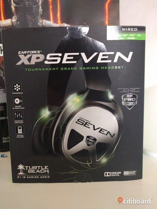 Turtle Beach XP seven gaming lurar Halmstad