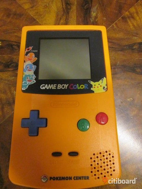 Gameboy color pokemon center 3rd anniversary Limited edition Varberg