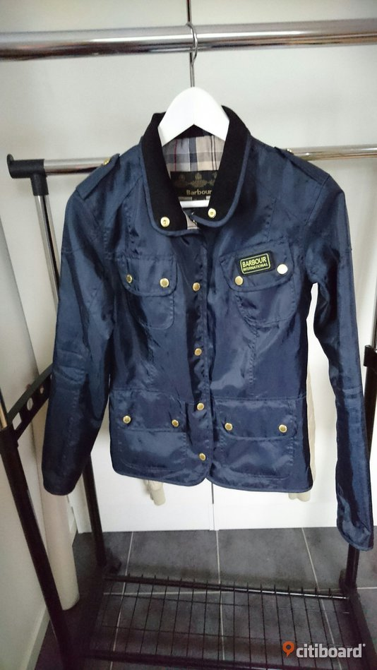 Barbour international dam 34 32-34 (XS) Upplands-Bro