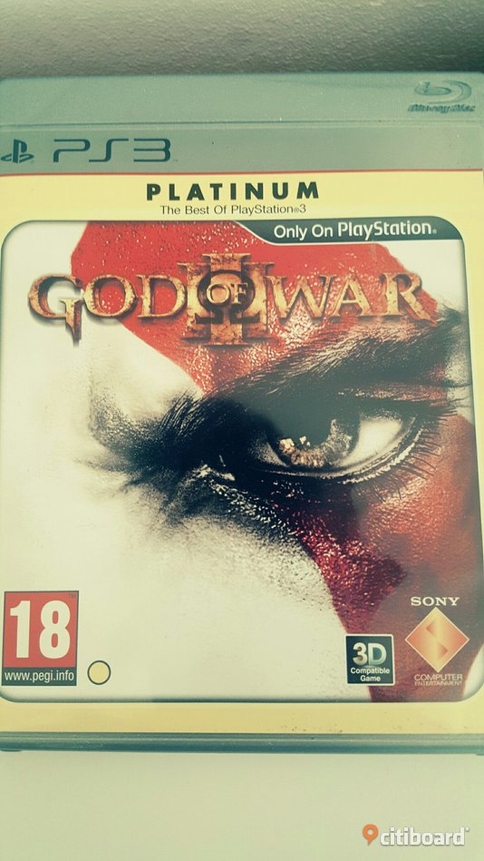 """God of war 3"" ps3  Musik, Film & Spel Uppsala"