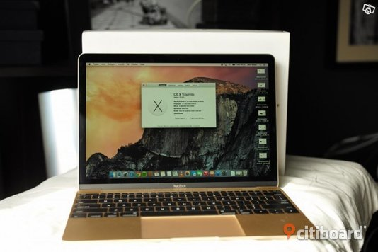 "Ny Macbook 12"" RETINA Gold Göteborg"