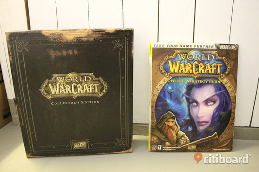 World of Warcraft Collectors Edition med ursprungliga Strategy Guide Nyköping / Oxelösund