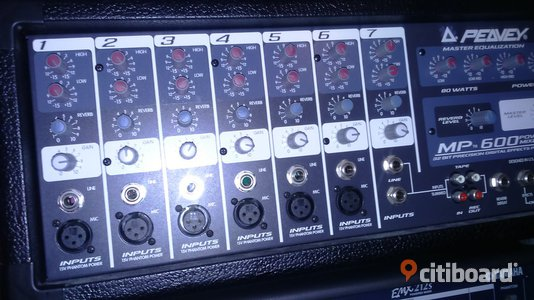 Powermixer  PEAVEY MP600 Motala