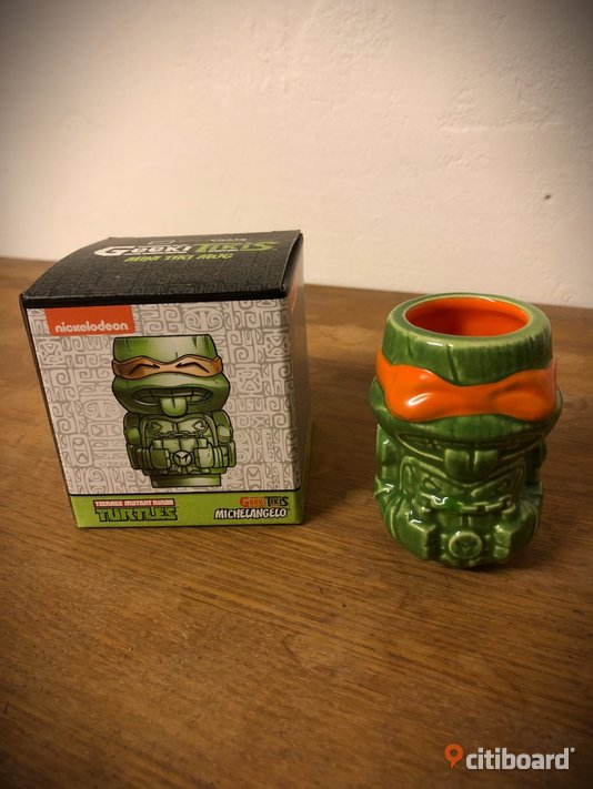 Teenage Mutant Ninja Turtle geek tiki mugg Nyköping / Oxelösund