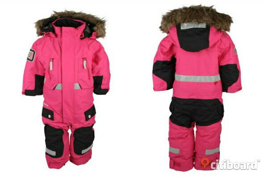 Didriksson rosa overall