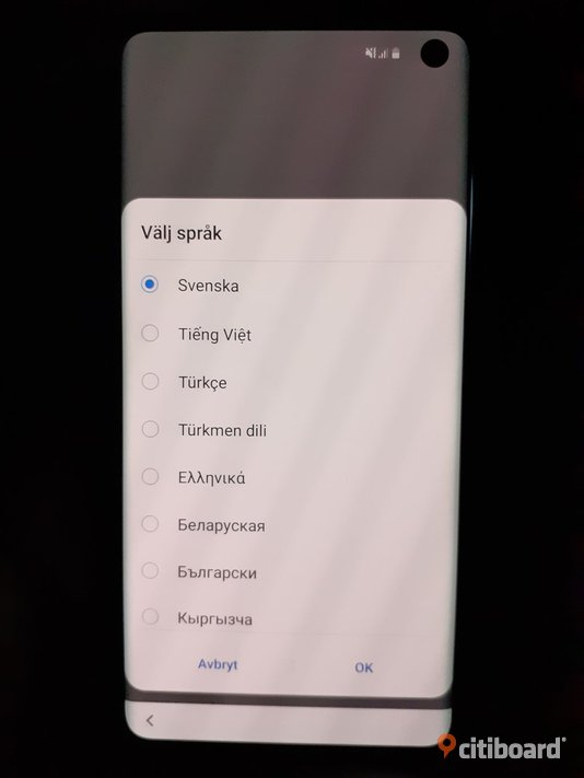 Samsung galaxy s10 plus 128 gb Elektronik Klippan Sälj