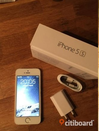 IPhone 5s 16GB, olåst (Ge Bud) Danderyd