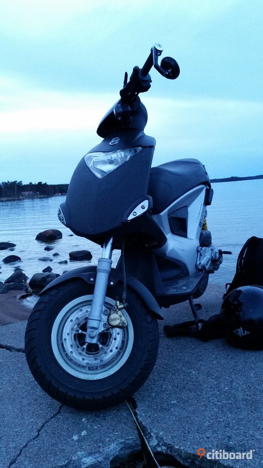 EU-Moped.  Gilera ICE Västervik