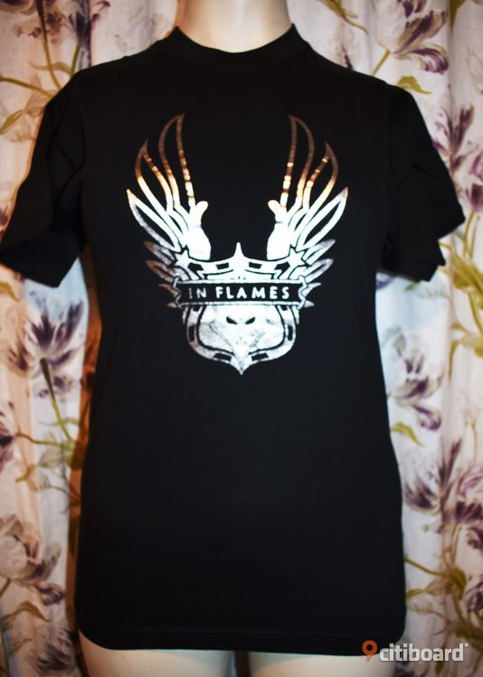 Ny! T-shirt - In Flames - Rock/Band/Metal 40-42 (M) Luleå