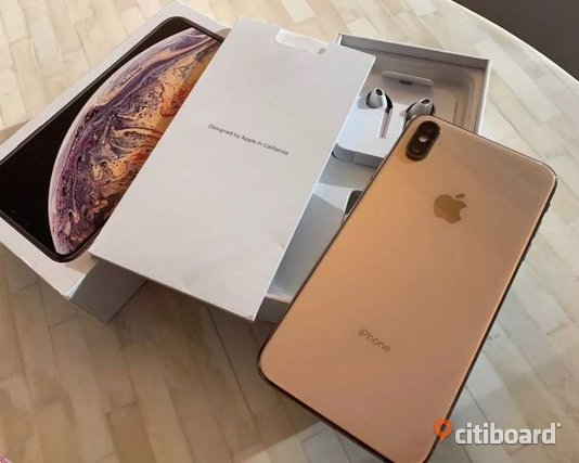 Apple iPhone XS Max 256GB Kronoberg Markaryd