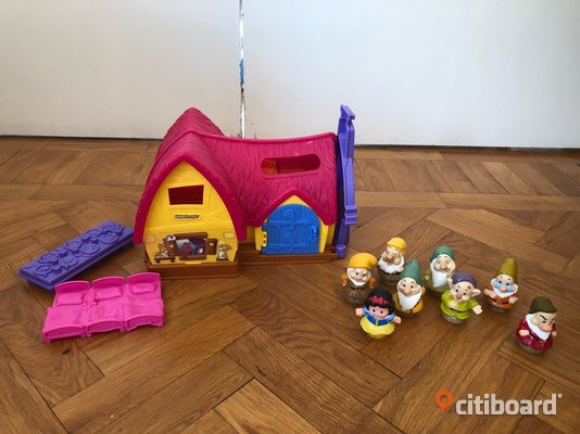 Fisher-Price Little People Snövit ooh de Sju Dvärgarna Hus