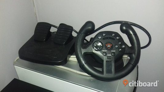 Compact Racing Wheel Trust GTX 570 - PC & Ps3 Datortillbehör & Program Ljungby