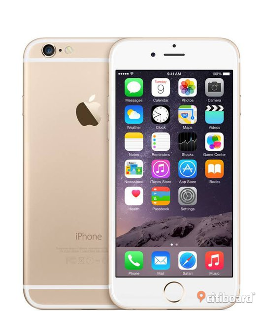 Apple iPhone 6 Plus - 128 GB - Guld - AT & T - GSM