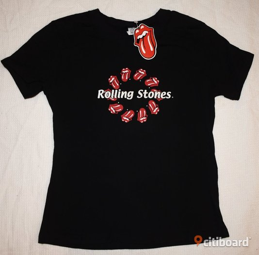 Ny! T-shirt - Rolling Stones - Rock/Band/Metal 36-38 (S) Norrbotten Luleå
