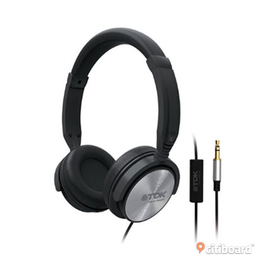 tdk st170 over ear headset h rlurar med mikrofon och. Black Bedroom Furniture Sets. Home Design Ideas