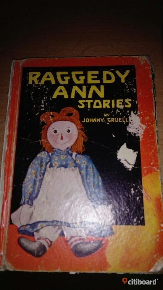 Raggedy andy/raggedy Ann stories  Nyköping / Oxelösund