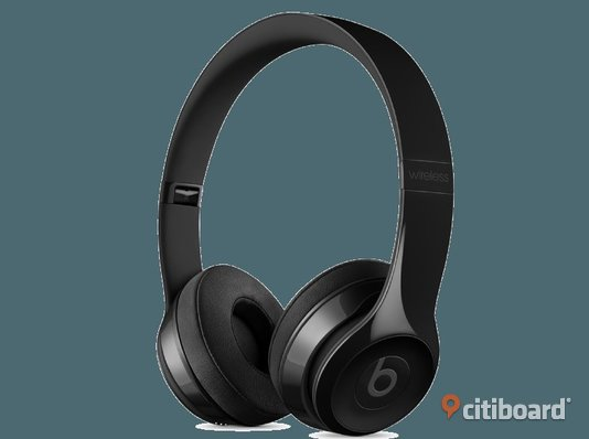 Beats Solo 3 Wireless on-ear hörlurar (blanksvart) Wireless Sala