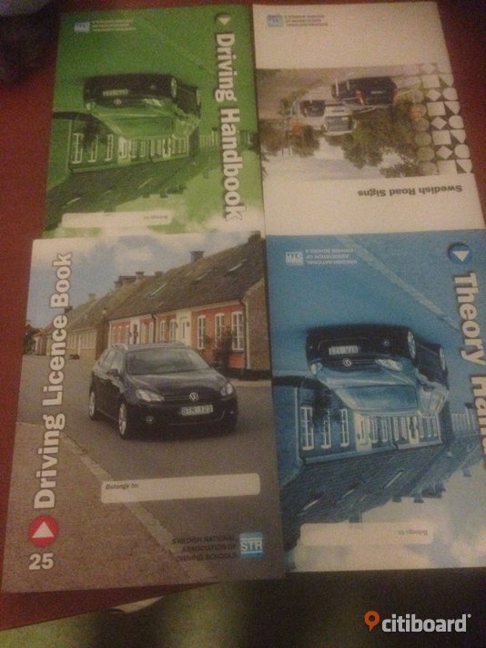 New english driver license book 2014 650kr