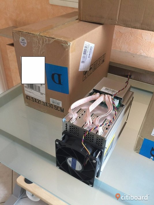 New original Antminer S9 14TH/s + PSU 1600W APW3++ Bitcoin ASIC Miner cost 1200usd Karlskrona