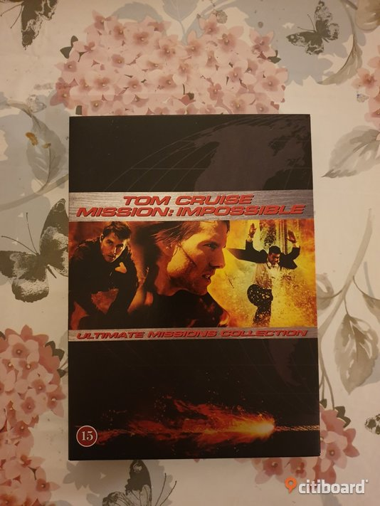 Tom Cruise, Mission Impossible, Dvd-box Umeå Sälj