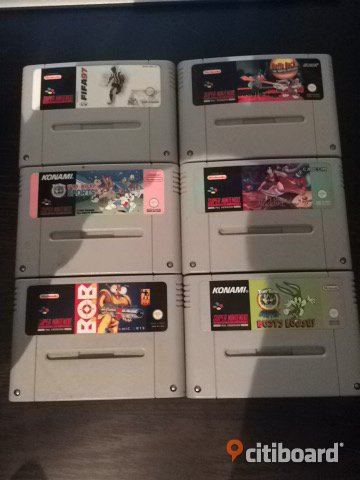 SNES/Supernintendo spel