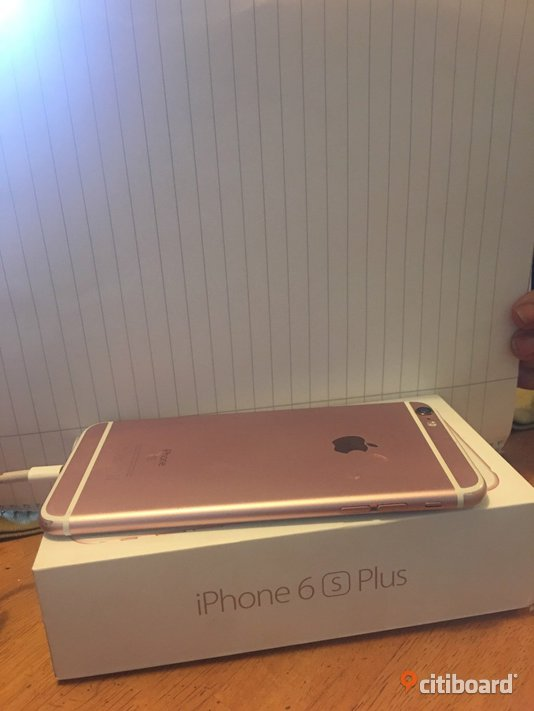 Iphone 6 s plus rose & dator paket  Borgholm