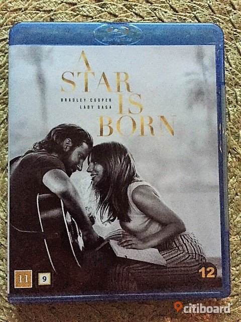 A star is born bluray Bradley Cooper-Lady Gaga Göteborg Sälj