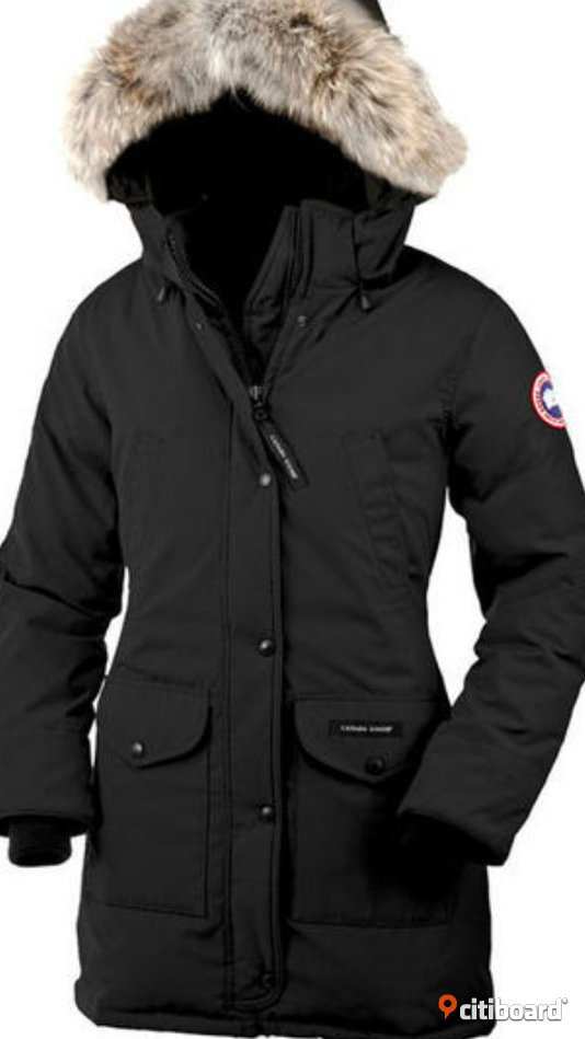 canada goose expedition parka dam svart