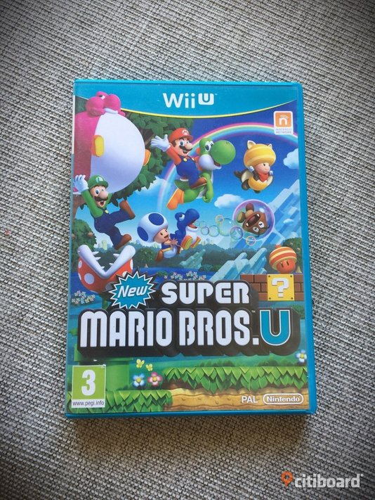 Wii U: New Super Mario Bros.U