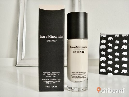 "Bare Minerals -BarePro PerformanceWearFoundation! ""Warm Light""! Värde 465:-! Ny! Malmö"