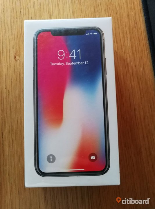Apple iPhone X 256gb space grey Smedjebacken