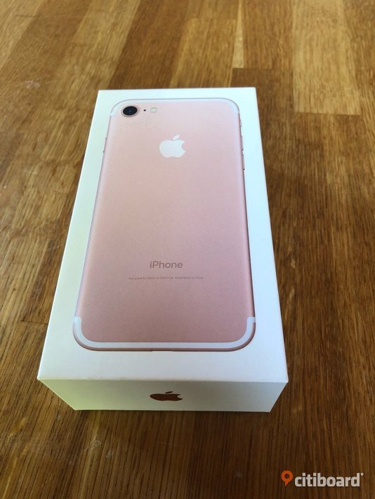 Apple iPhone 7 128GB Rose Gold Stockholm Sälj
