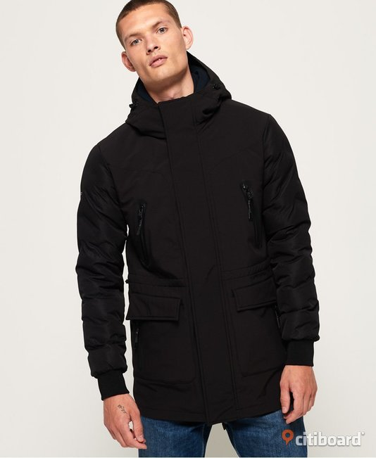 Superdry edit commuter parka. 48-50 (M) Sundsvall