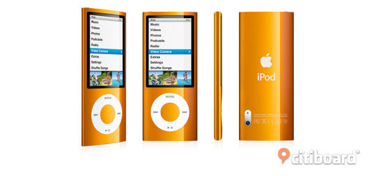 Apple iPod nano 8 GB 5: e generationen (Orange) Norrköping