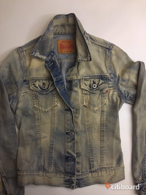 REPLAY Jeans jacka  40-42 (M) Lund