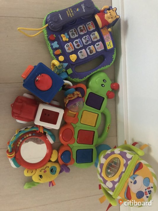 Fisher price, Disney, playgro, bellino,viking toys Stockholm