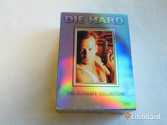 Die Hard The Ultimate Collection. Dvd-box. Ej Regionsfri Eslöv