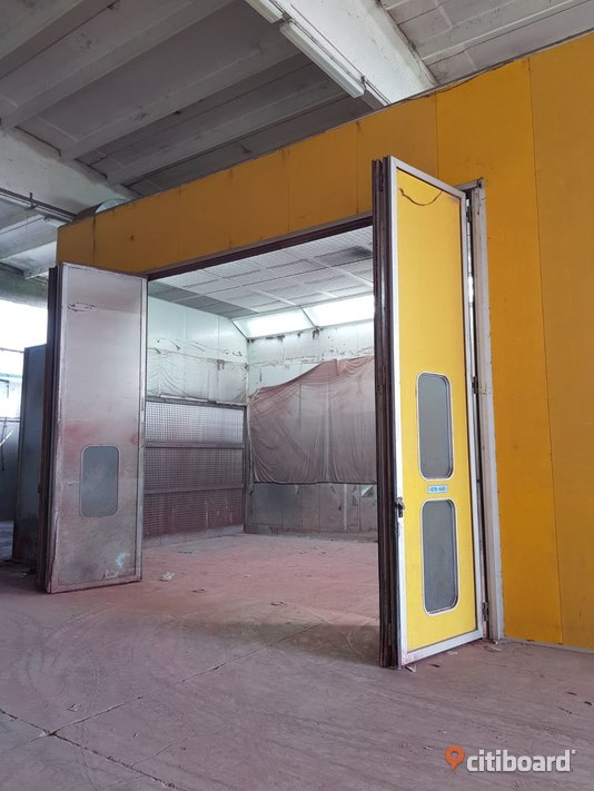 Used paint booth size 12x5x5 meters (n.6) Fordon Stockholm Stockholm