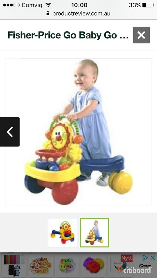 Fisher price walker 2 in 1