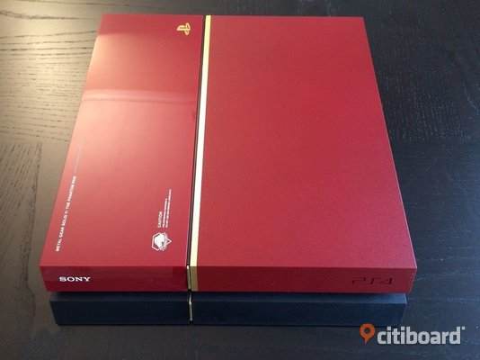 Playstation 4 red limited edition  Solna