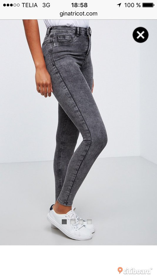 Molly high waist jeans Gina Tricot