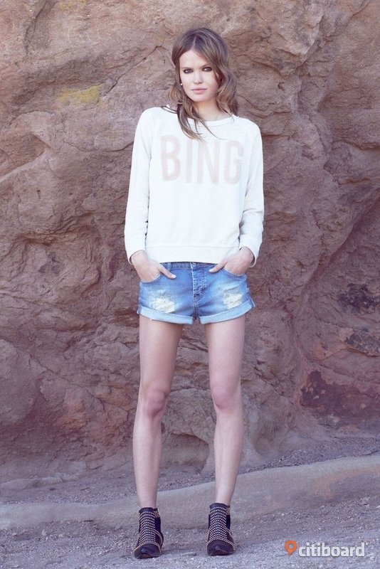 Anine Bing Denim shorts, fint skick