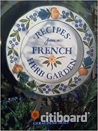 Recipes from a French Herb garden Stockholm