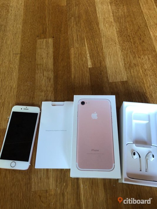 Apple iPhone 7 128GB Rose Gold Stockholm
