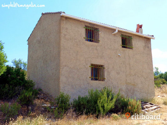 Land in Spain with a Masia (Aragon)
