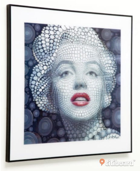 NEW Picture 3D Marilyn  Stockholm