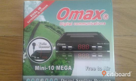 Omax mini digital satellite reciver.