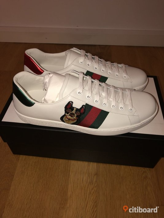 Gucci Ace Embroidered skor 43-44 Mode Malmö