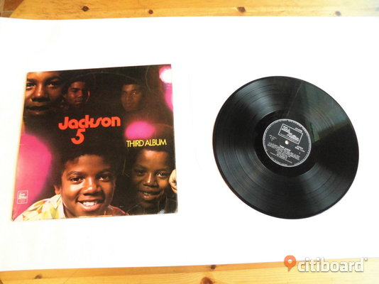 Jackson 5. Third Album. Lp. 1970. UK. Repig men spelar ok.  Eslöv Sälj